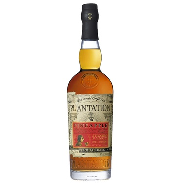 Eau De Vie De Canne Plantation Rum Stiggins Fancy Pineapple 40% 70cl