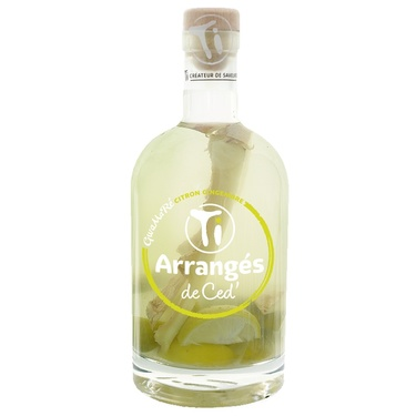 Punch Au Rhum Arranges De Ced' Gwamare Citron Gingembre 32% 70cl