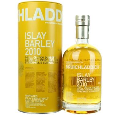 Whisky Ecosse Islay Single Malt Bruichladdich Islay Barley 2010 50% 70cl