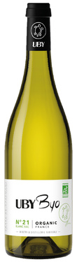 Igp Gascogne N 21 Uni-blanc Sauvignon Byo Uby 2019