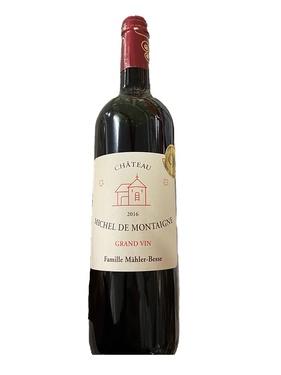 Bergerac Rouge Chateau Michel De Montaigne 2016