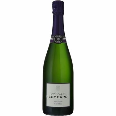 1/2 Bt Champagne Blanc Lombard Brut 1er Cru