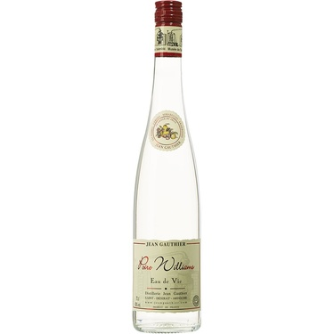 Eau De Vie De Poire Williams Distillerie Gauthier 43% 70cl