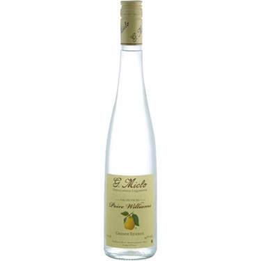 Eau De Vie De Poire Williams Grande Reserve Distillerie Miclo 43% 50cl