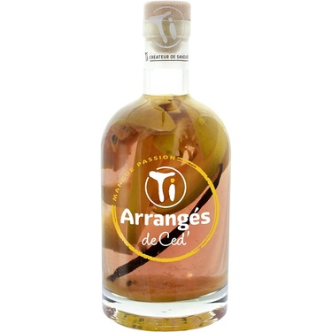 Punch Au Rhum Arranges De Ced' Mangue Passion 32% 70cl