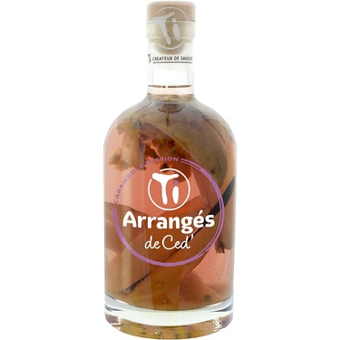 Punch Au Rhum Arranges De Ced' Carambole Passion 32% 70cl